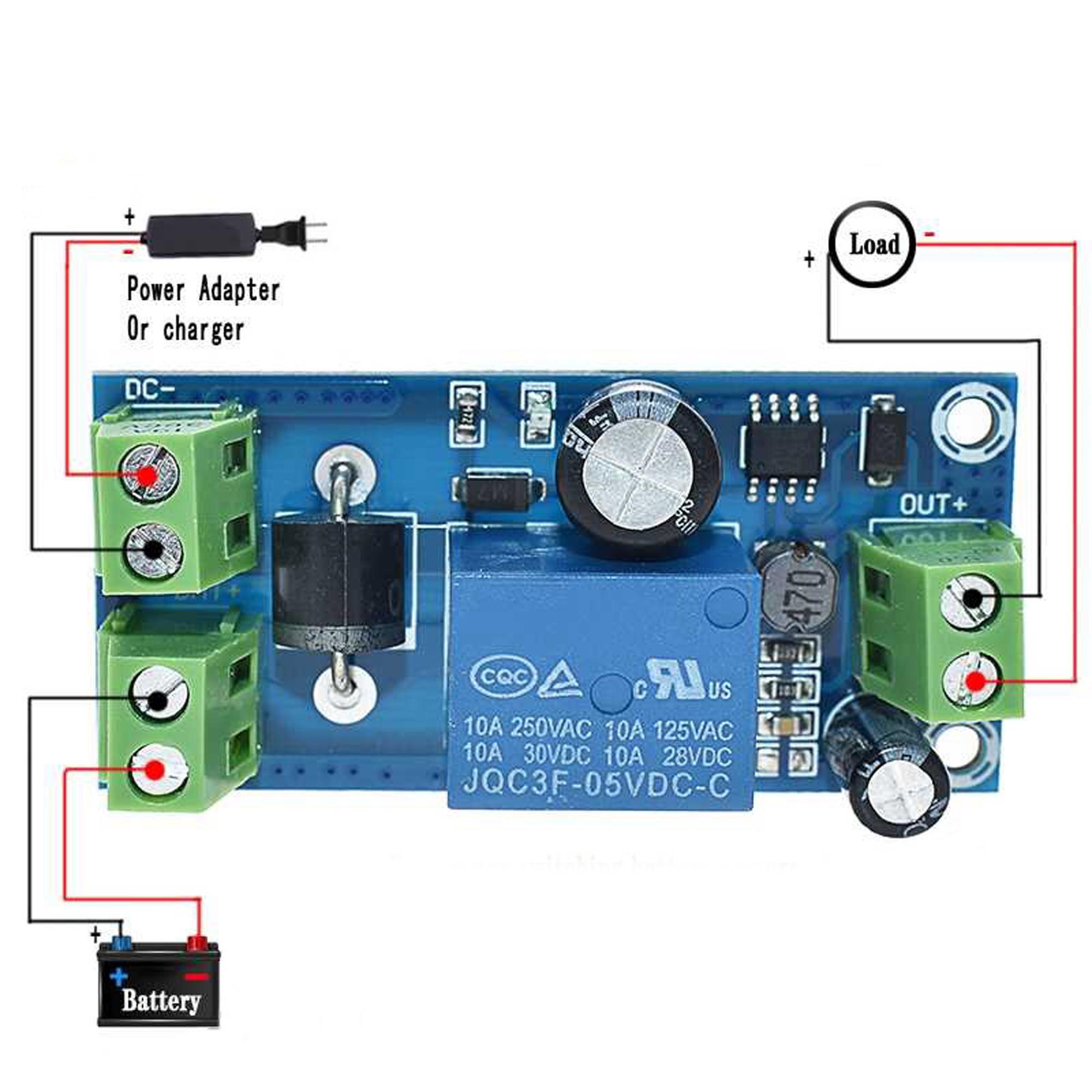 Module chuyển đổi nguồn dự phòng 5-48VDC - 5