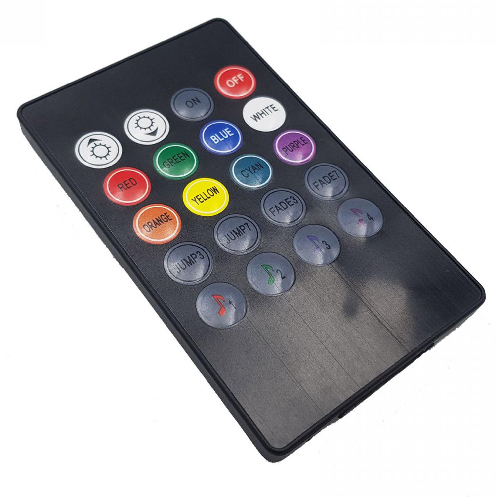 Bàn phím của Bộ điều khiển hiệu ứng led RGB 5050 MUSIC IR CONTROLLER