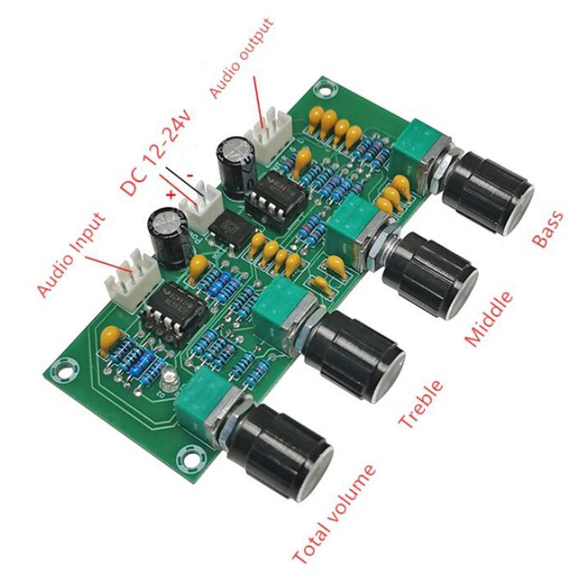 Sơ đồ mạch của Mạch điều chỉnh âm sắc XH-A901 NE5532P