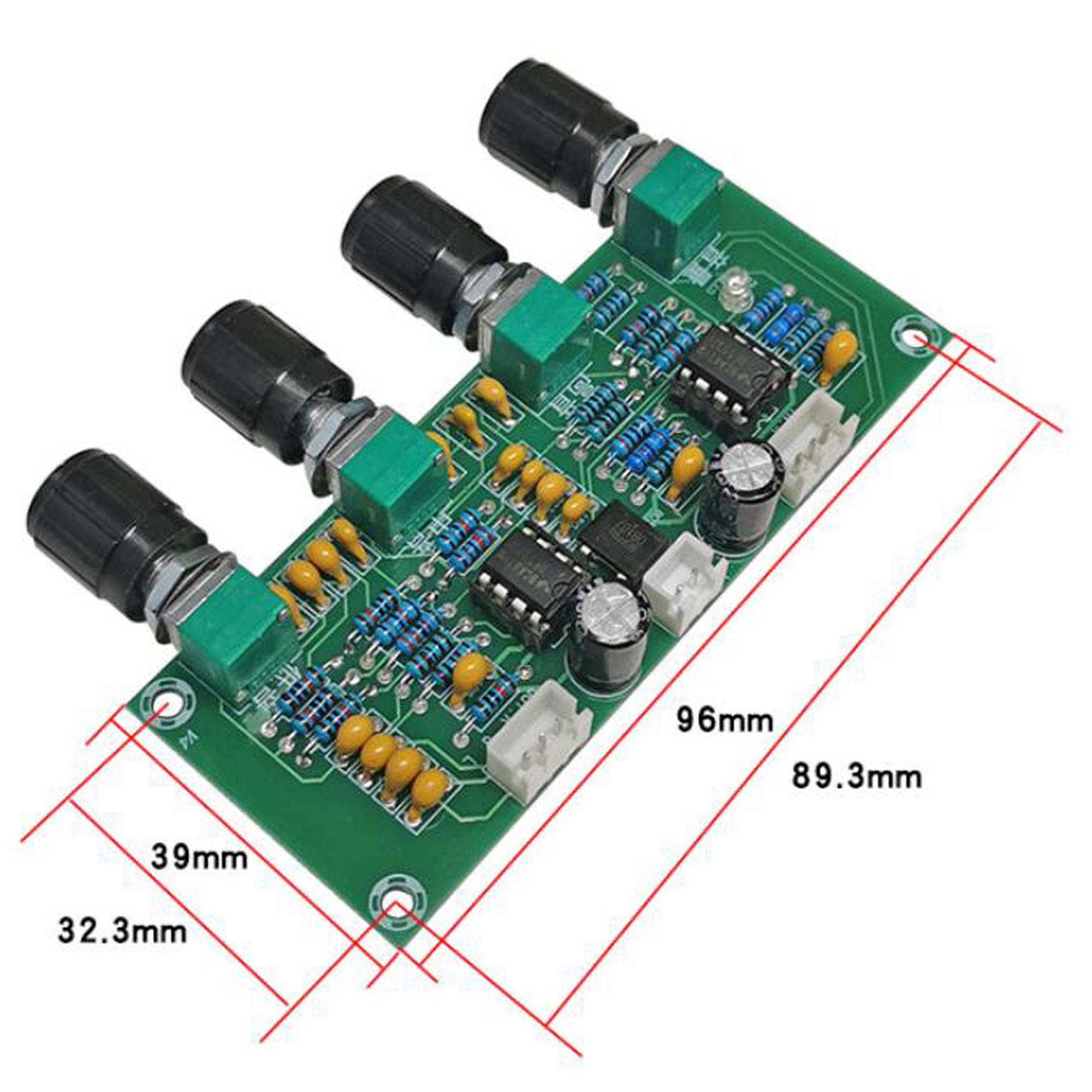 Kích thước Mạch điều chỉnh âm sắc XH-A901 NE5532P
