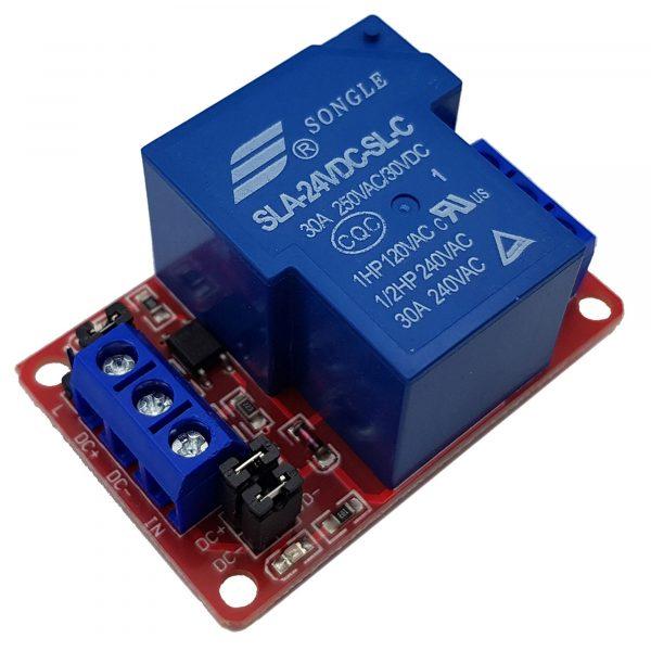 Module 1 Relay Với Opto Cách Ly Kích H/L 24V 30A