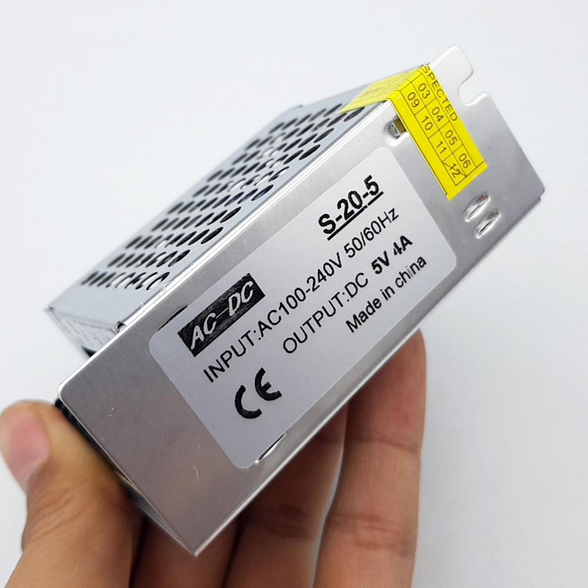 Nhãn trên Nguồn tổ ong 5V 4A