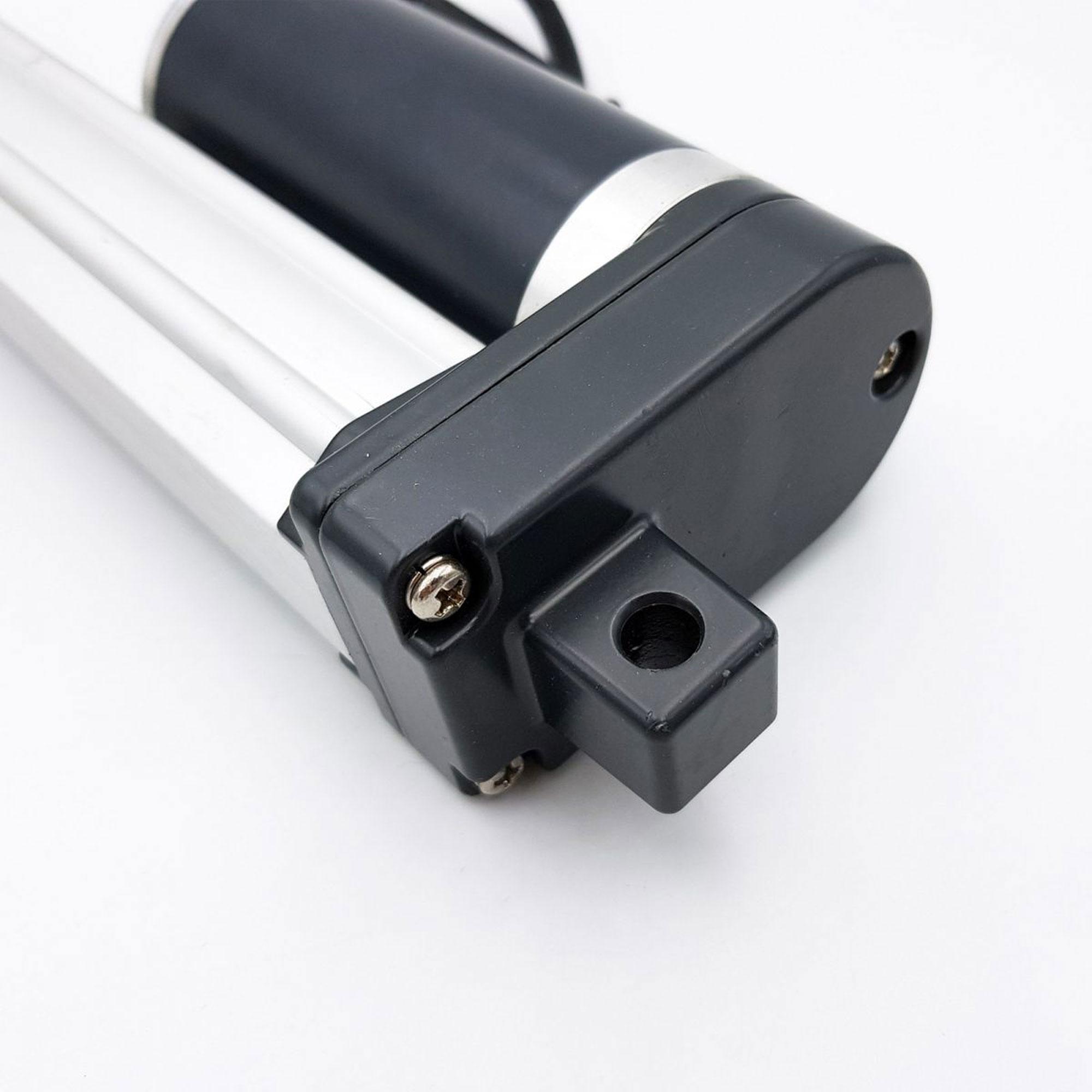 Phần chân Xi lanh điện 24V có lực nâng 1500N