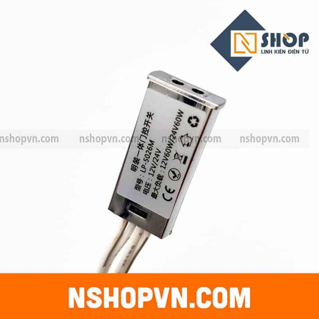 Công tắc cảm biến bật tắt Led LP-5026M 12VDC