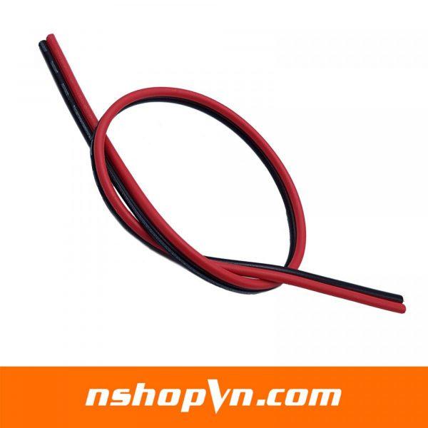 Dây điện đôi đỏ đen 0.5mm