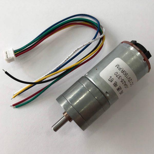 Động cơ DC giảm tốc GA25 Encoder