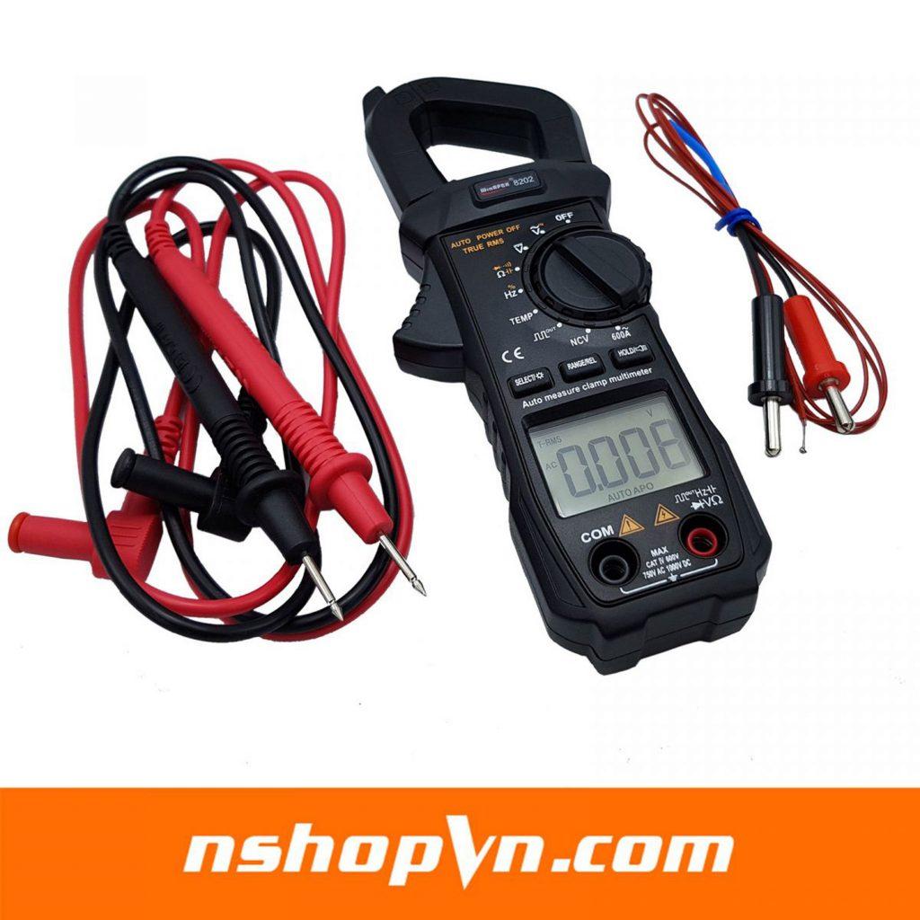 Đồng hồ ampe kìm tự động WinAPEX 8202