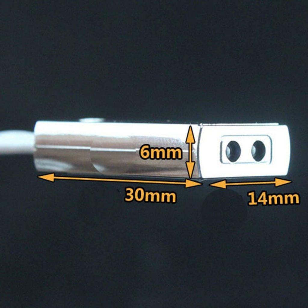 Kích thước Công tắc cảm biến bật tắt Led LP-5026T 5-24VDC