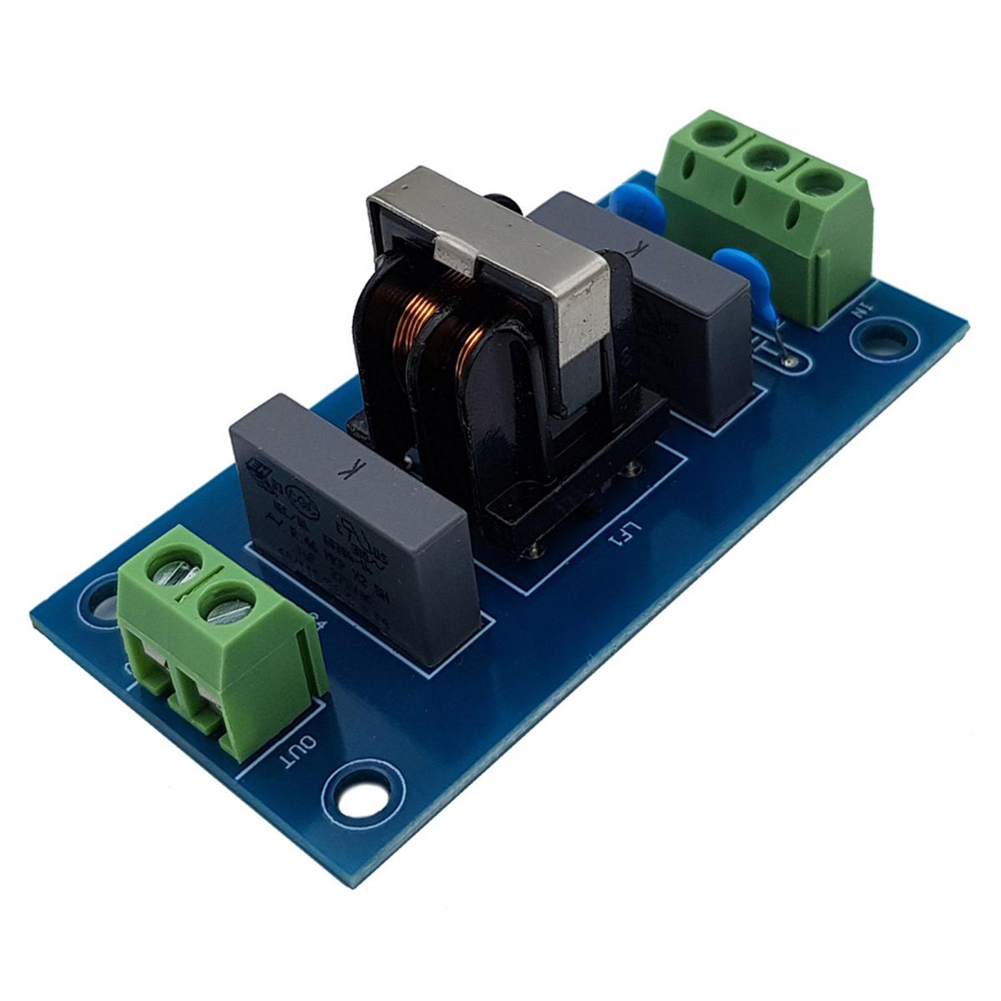Module lọc nhiễu điện từ EMI 220VAC 3A