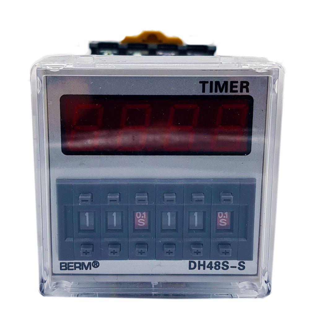 Bộ hẹn giờ Timer Dh48s-s Berm 24vac/dc
