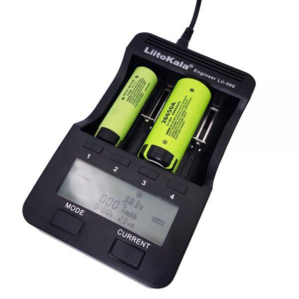 Bộ sạc và kiểm tra pin LiitoKala Lii-500