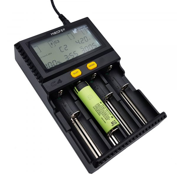 Bộ sạc và kiểm tra pin MIBOXER C4