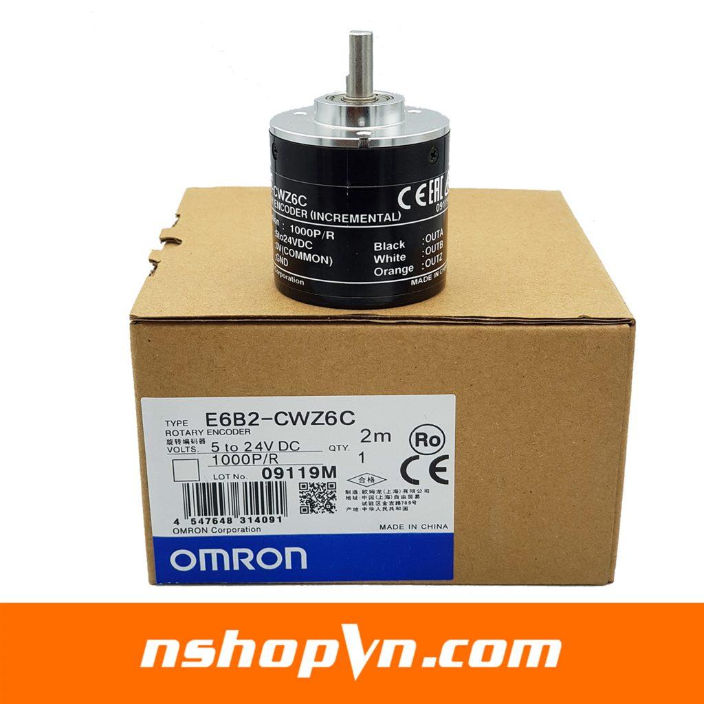 Encoder Omron E6B2 - CWZ6C 1000 xung