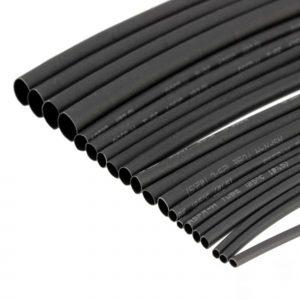 1m ống dây gen co nhiệt màu đen