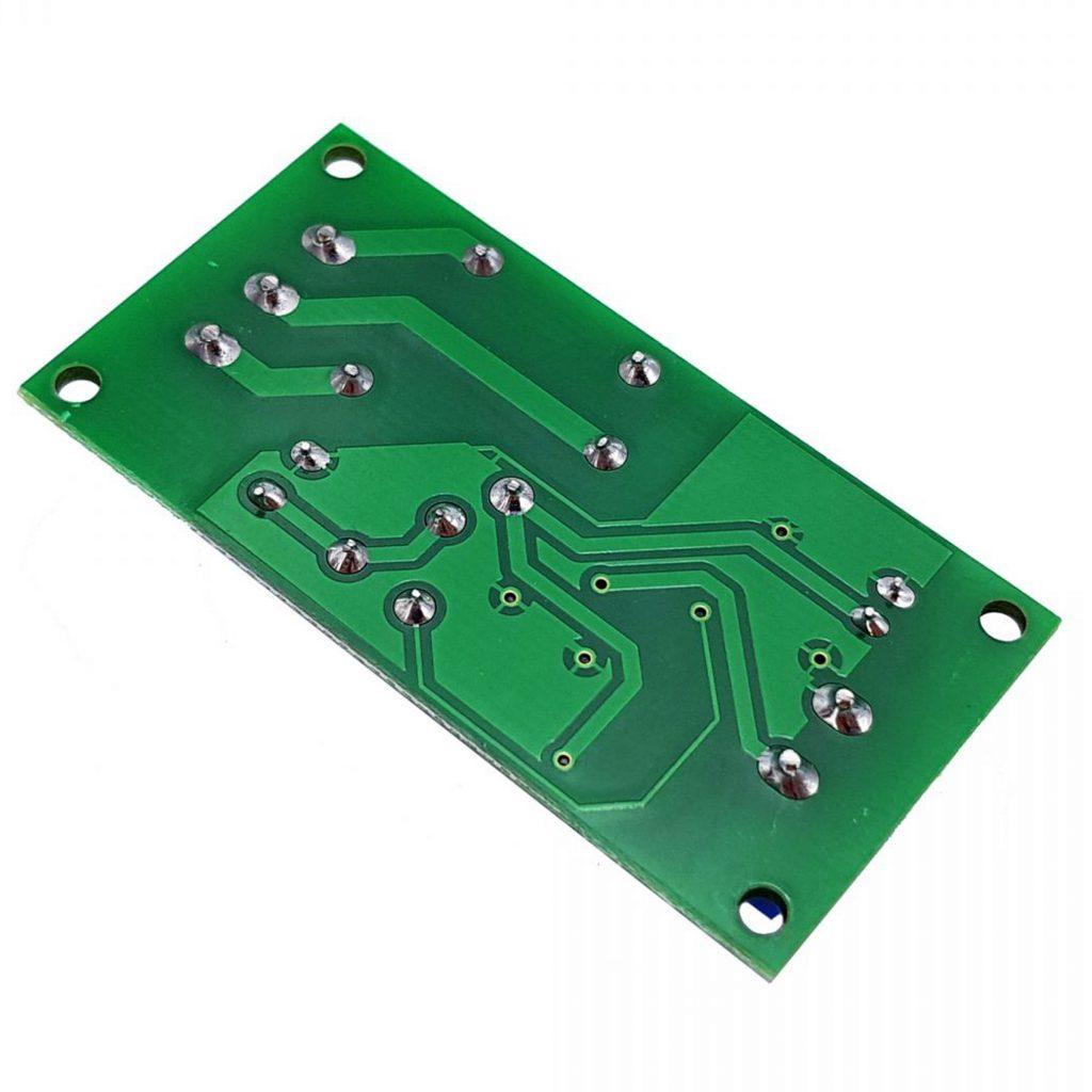 Mặt sau của Module Relay Tạo Trễ 0-60s Songle QF-RD02 V1.0
