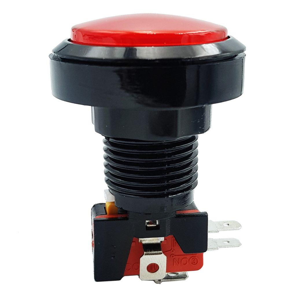 Nút nhấn điều khiển trò chơi 45mm màu đỏ