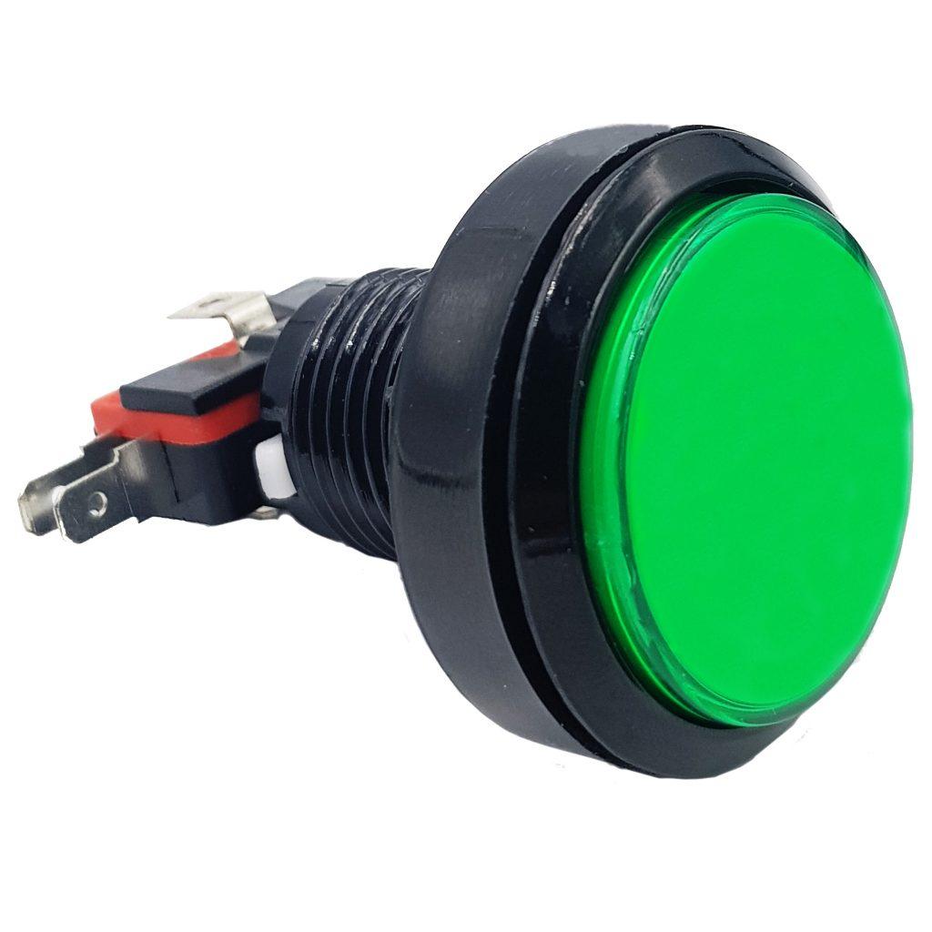 Nút nhấn điều khiển trò chơi 45mm màu xanh lá