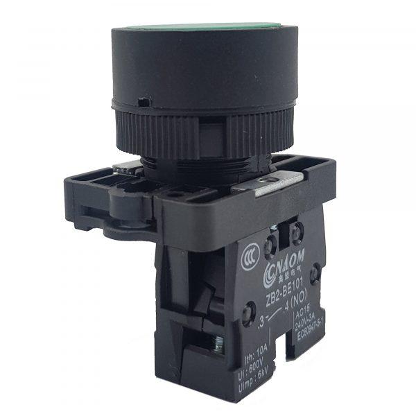 Nút nhấn XB2-EA31 ZB2-BE101 thường mở màu xanh