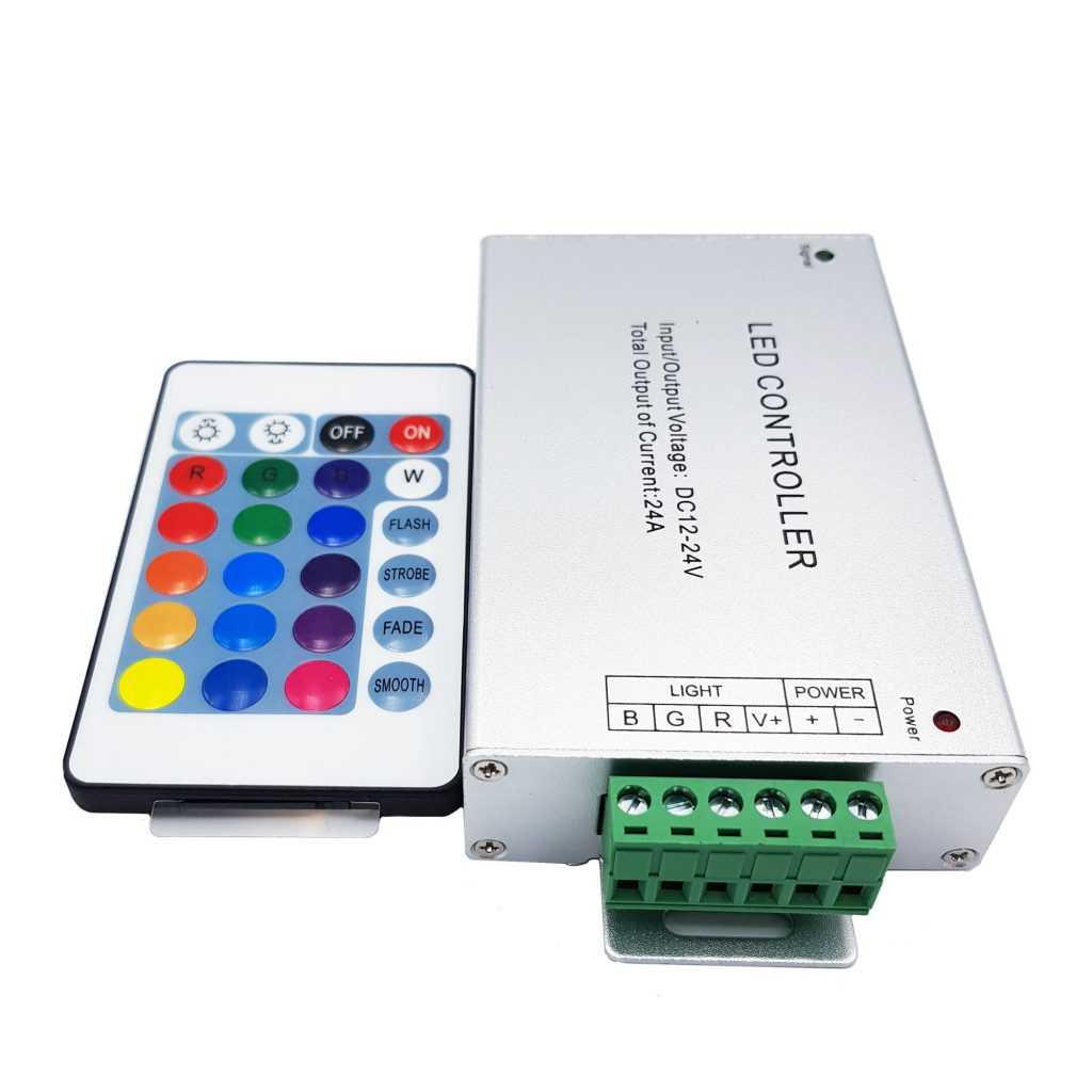 Bộ điều khiển Led Rgb Controller 12-24V 24A