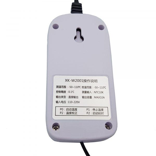 Bộ khống chế, điểu khiển nhiệt độ XK-W2001 220VAC