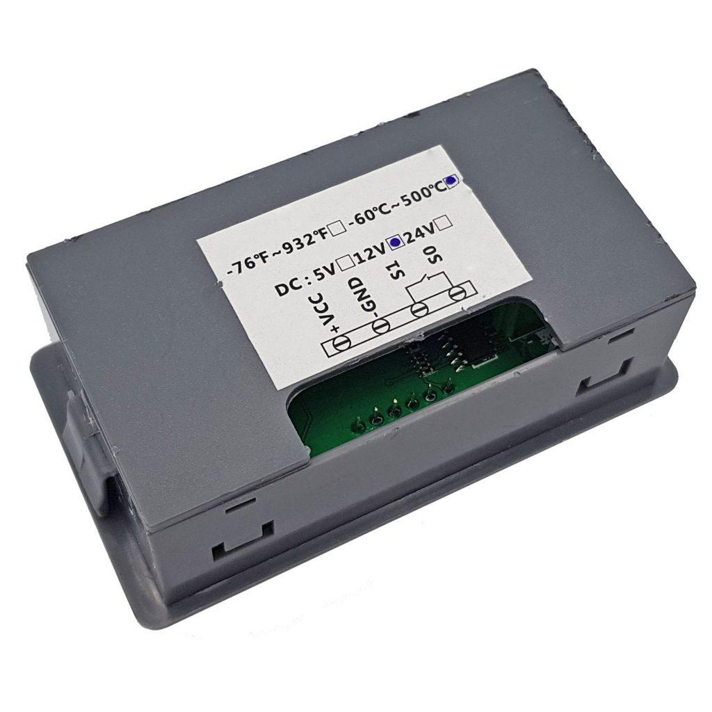 Bộ khống chế nhiệt độ Type-K 500 độ C 12vdc