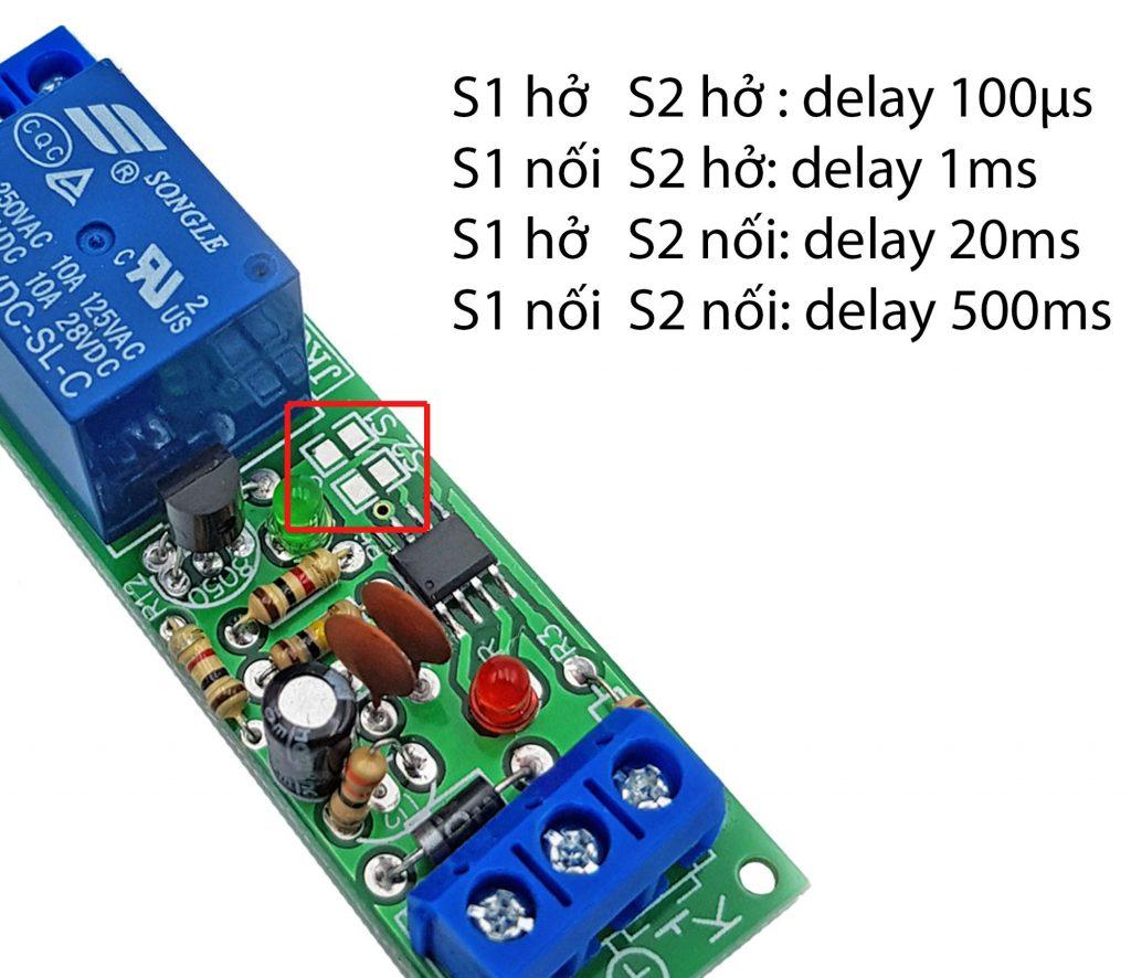 Hướng dẫn sử dụng Module kích hoạt relay bằng nút nhấn, cảm biến JK06B-V2.0