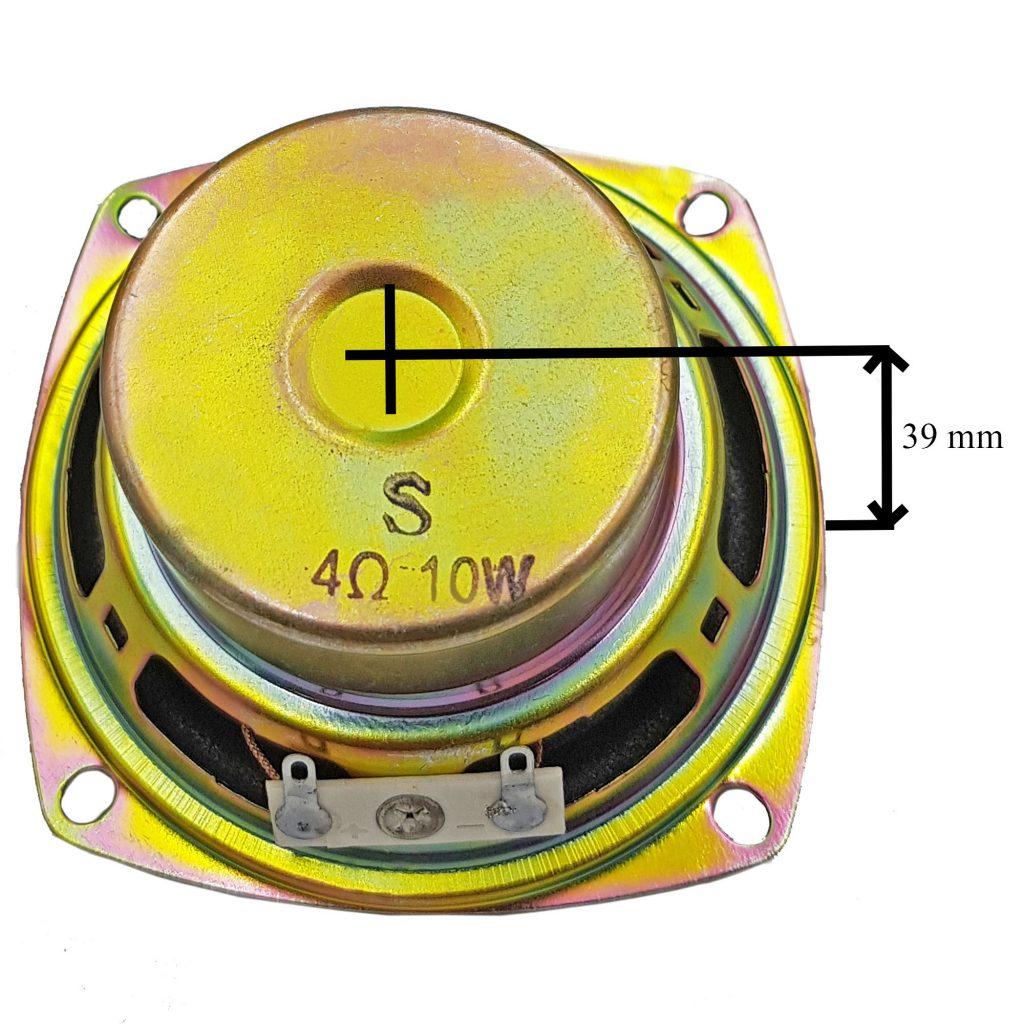 Kích thước của Loa toàn dải 10W 4Ohm 78mm