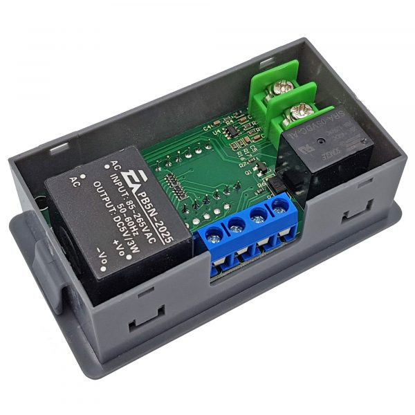 Bộ khống chế nhiệt độ Type-K 500 độ C 12VDC / 220VAC