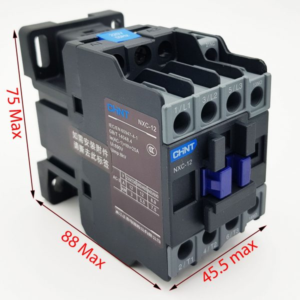 Contactor CHINT NXC-12 12A 5.5kW