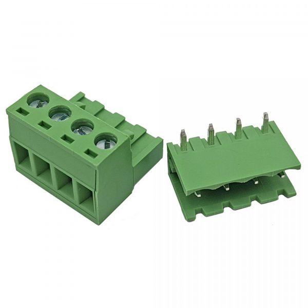 Domino cong 2EDG 5.08 2P, 3P, 4P