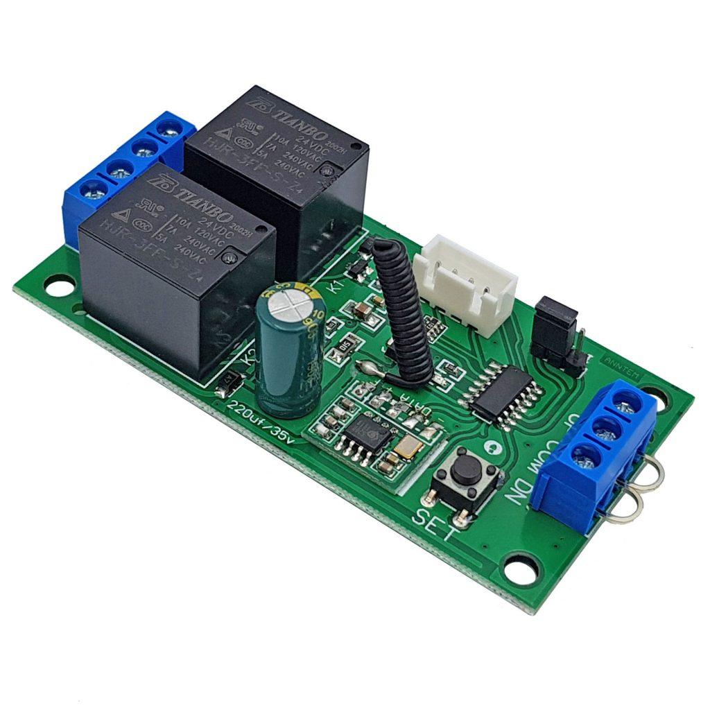Mạch điều khiển đảo chiều động cơ từ xa 24VDC 10A