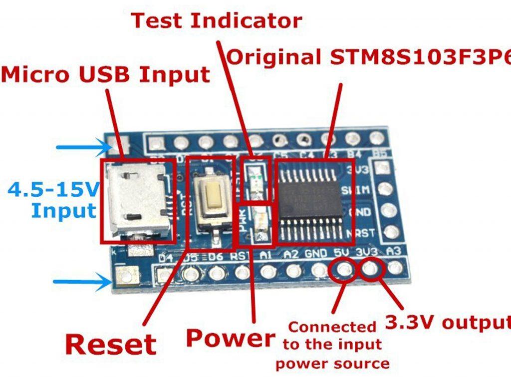 Mạch STM8S103F3P6