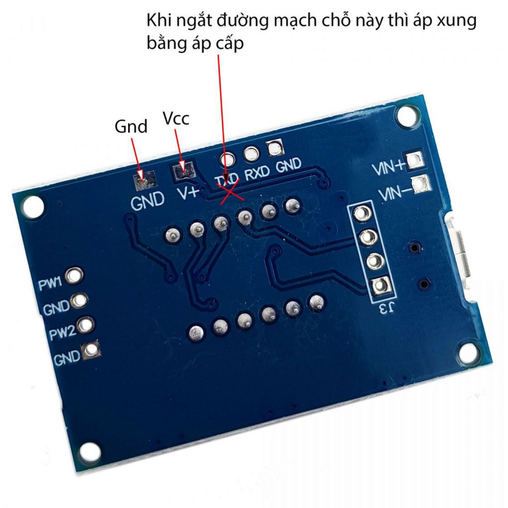 Module tạo xung PWM 2 kênh