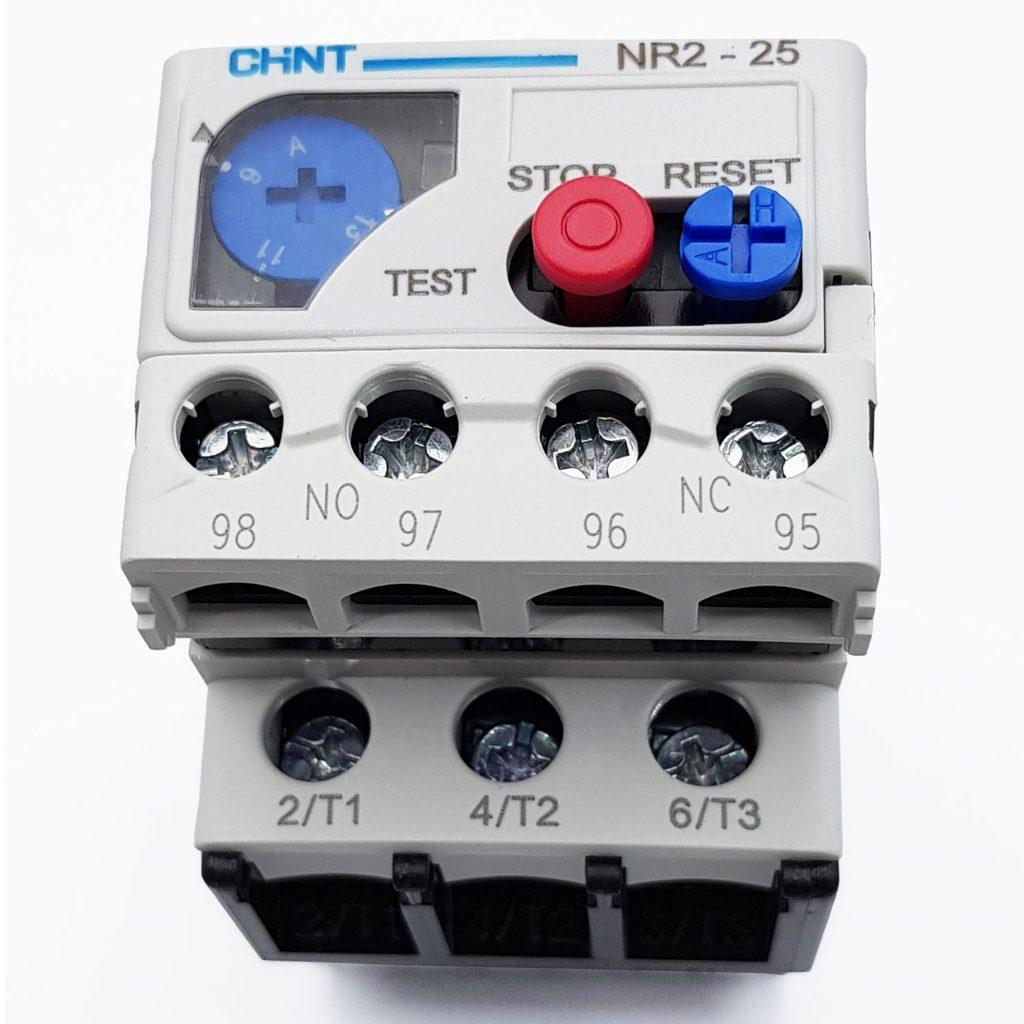 Rơle nhiệt 9-13A CHINT NR2-25