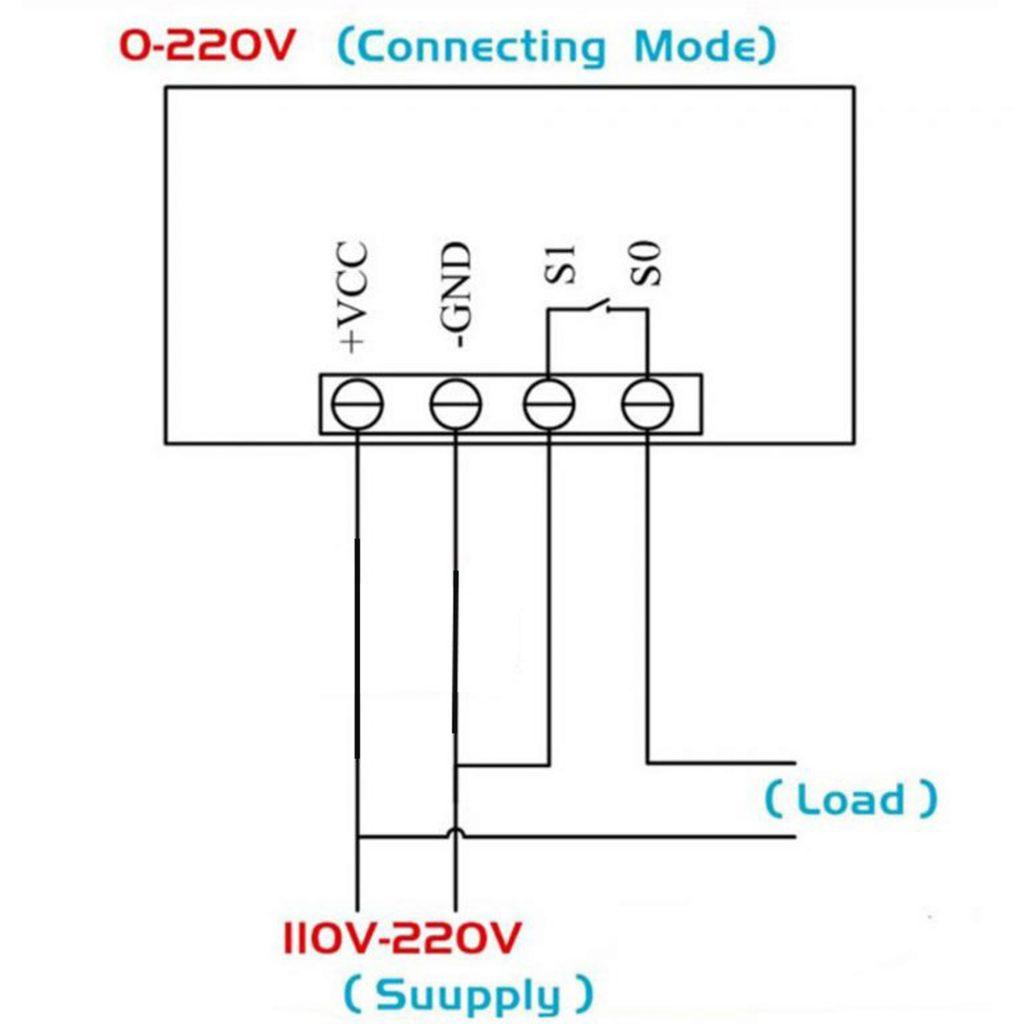 Bộ khống chế nhiệt độ Type-K 500 độ C 220VAC