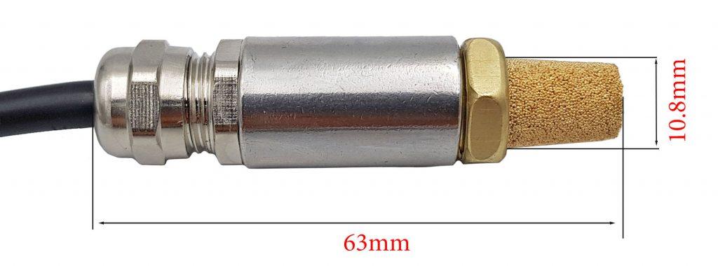 Kích thước của Cảm biến nhiệt độ và độ ẩm SHT30 - HSJ632