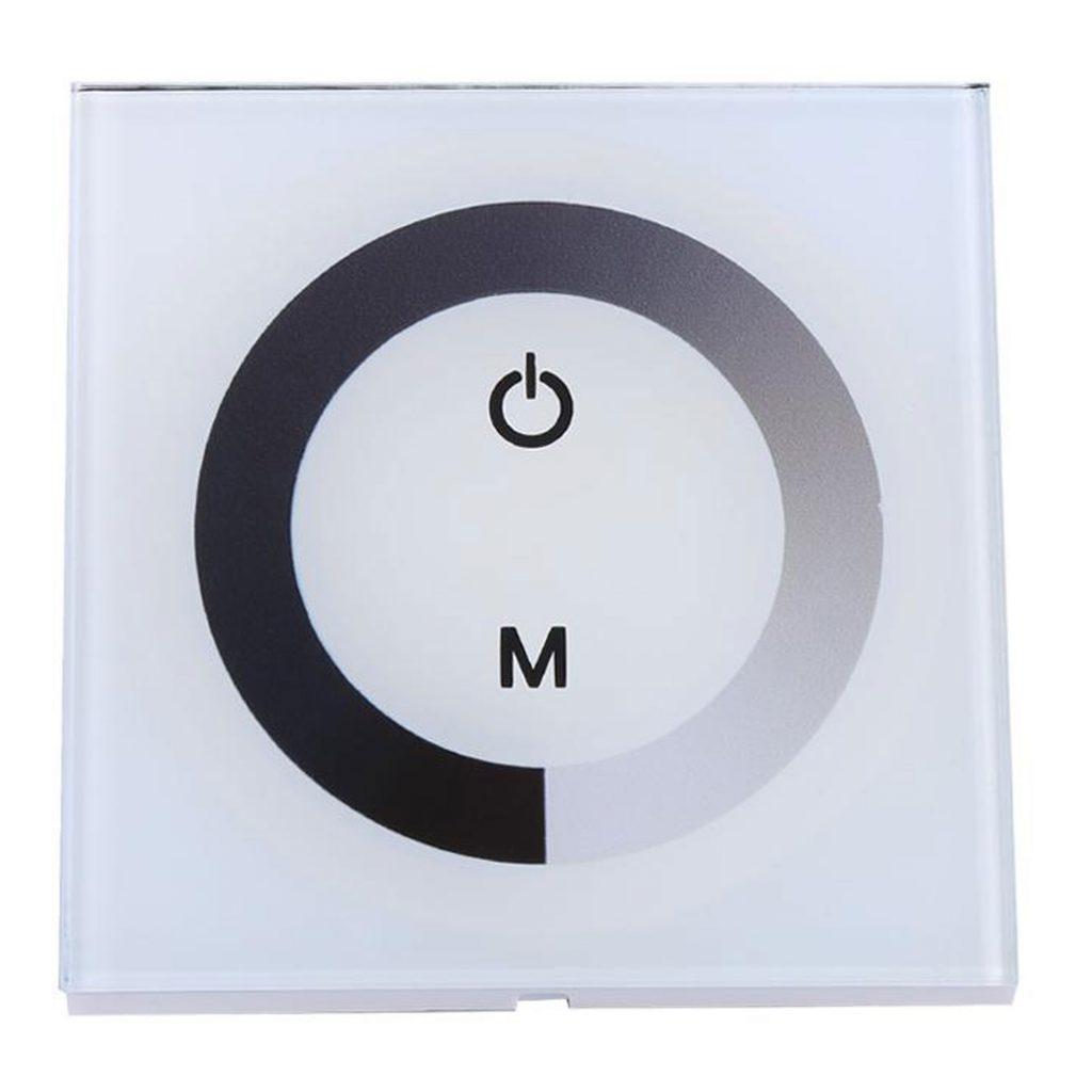 Dimmer cảm ứng điều khiển độ sáng led 12-24VDC TM06 màu trắng