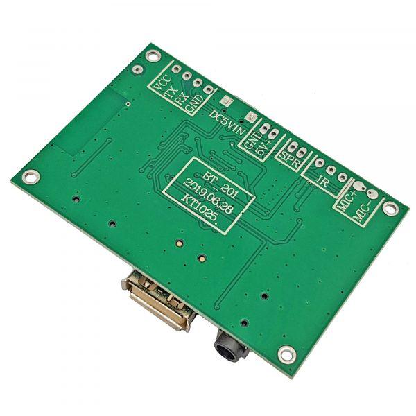 Mạch âm thanh Bluetooth 5.0 - TF - USB - FM - BLE - SPP BT201