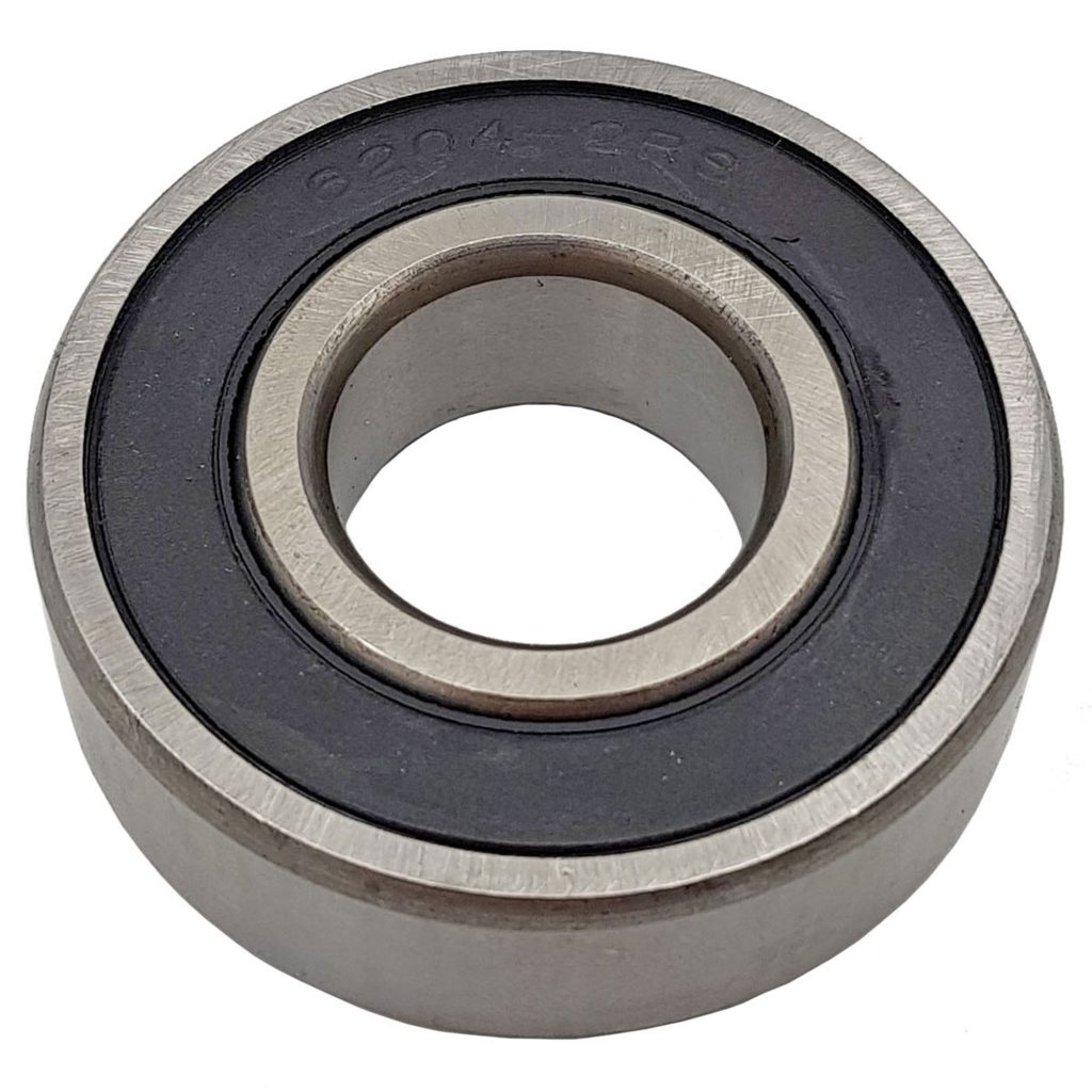 Vòng bi, bạc đạn 6204-2RS đường kính trong 20mm, ngoài 47mm và cao 14mm