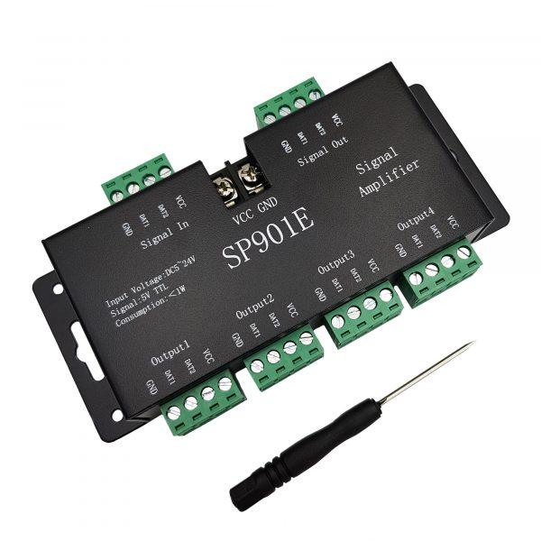 Bộ khuếch đại tín hiệu SP901E cho LED WS2811 / 2812B