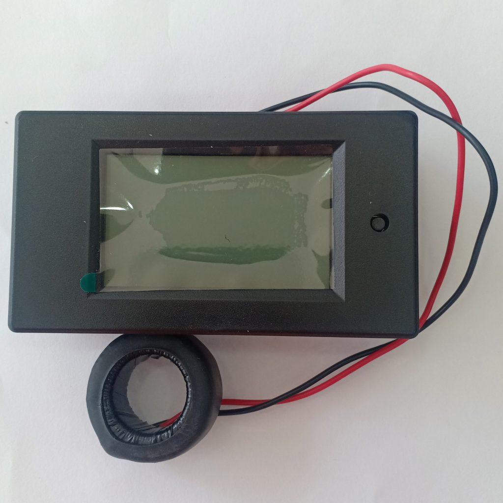 Đồng hồ đo dòng áp công suất mức năng lượng AC 100A kèm CT vòng xuyến