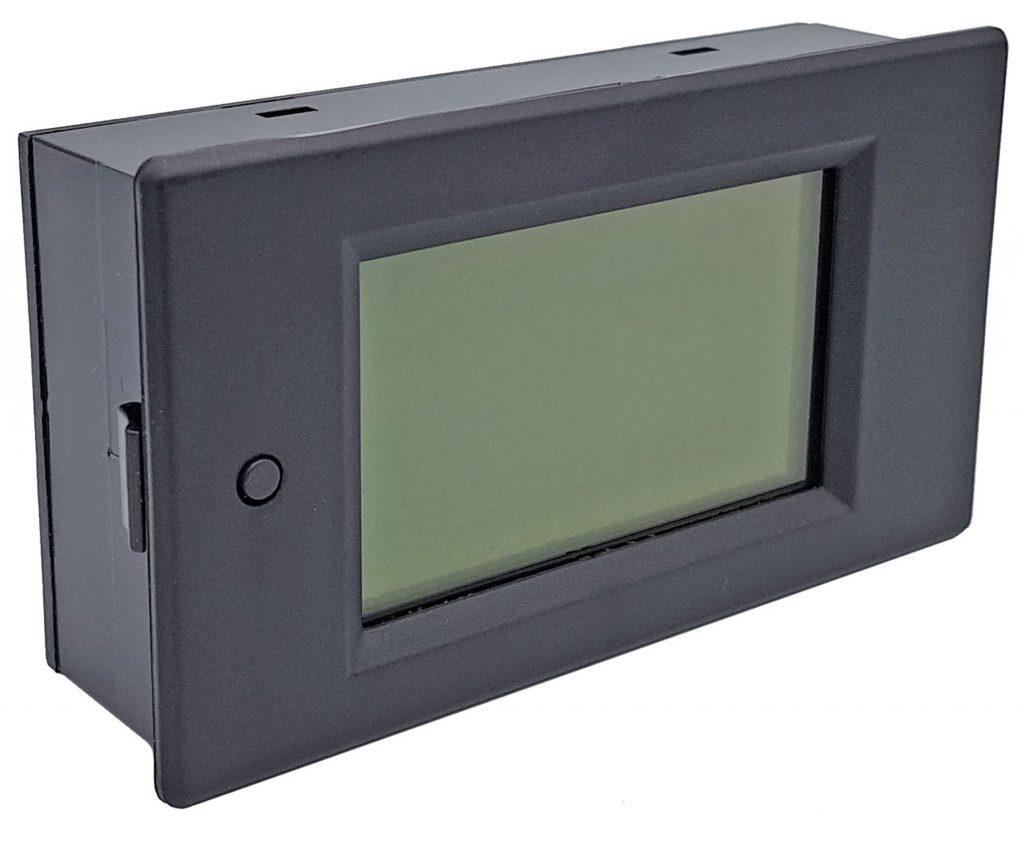 Đồng hồ đo dòng, áp, công suất, mức năng lượng DC kèm trở Shunt 50A (hoặc 100A)