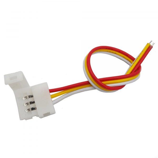 Jack nối LED 3P - 10cm