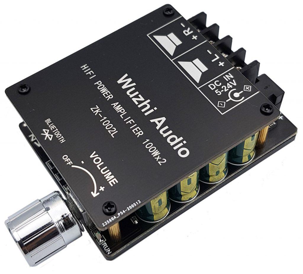 Mạch khuếch đại âm thanh Hifi bluetooth 5.0 TPA3116 D2 ZK-1002L 100Wx2