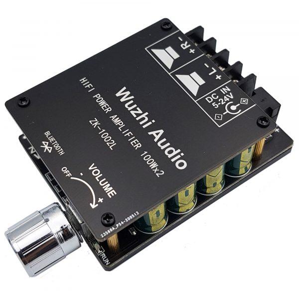 Mạch khuếch đại âm thanh Hifi bluetooth 5.0 TPA3116 D2 ZK-1002L 100W x 2