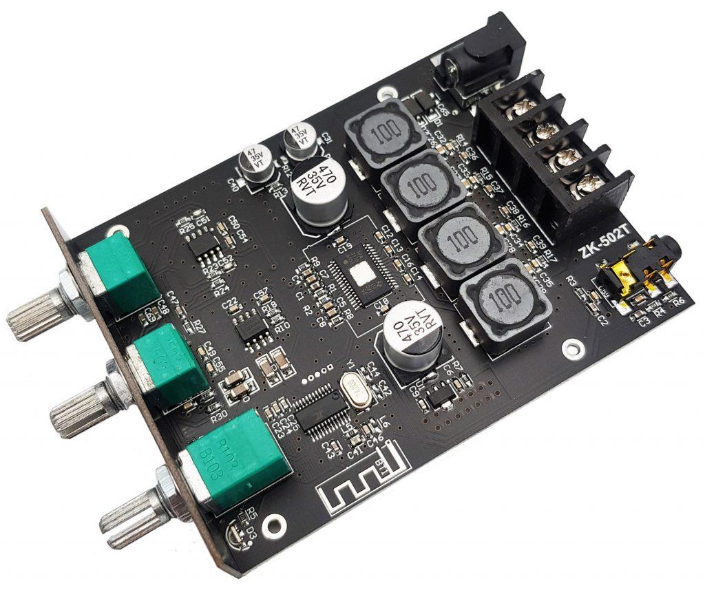 Mạch khuếch đại âm thanh Hifi bluetooth 5.0 TPA3116 D2 ZK-502T 50Wx2