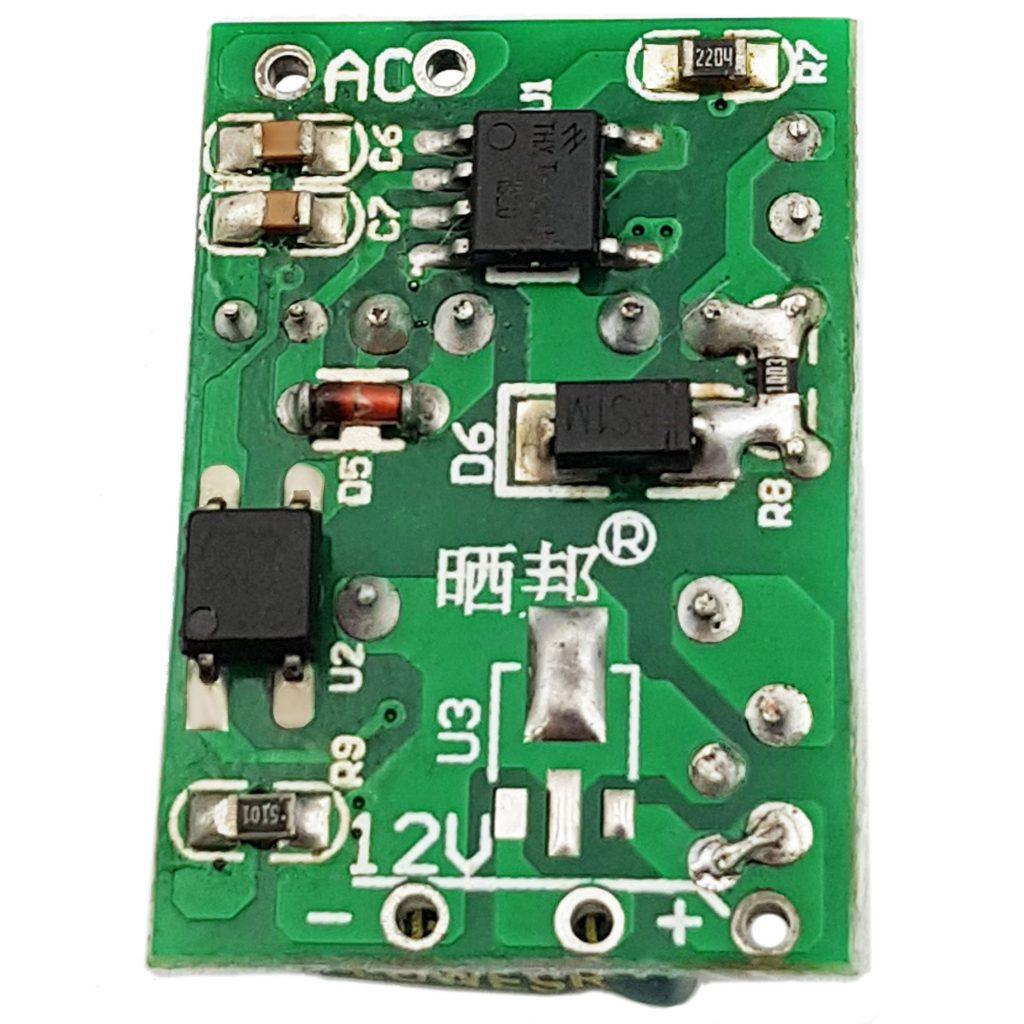 Mạch Nguồn Xung AC-DC 12VDC 450mA