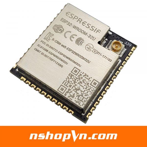 Mạch thu phát wifi ESP32 - WROOM - 32U