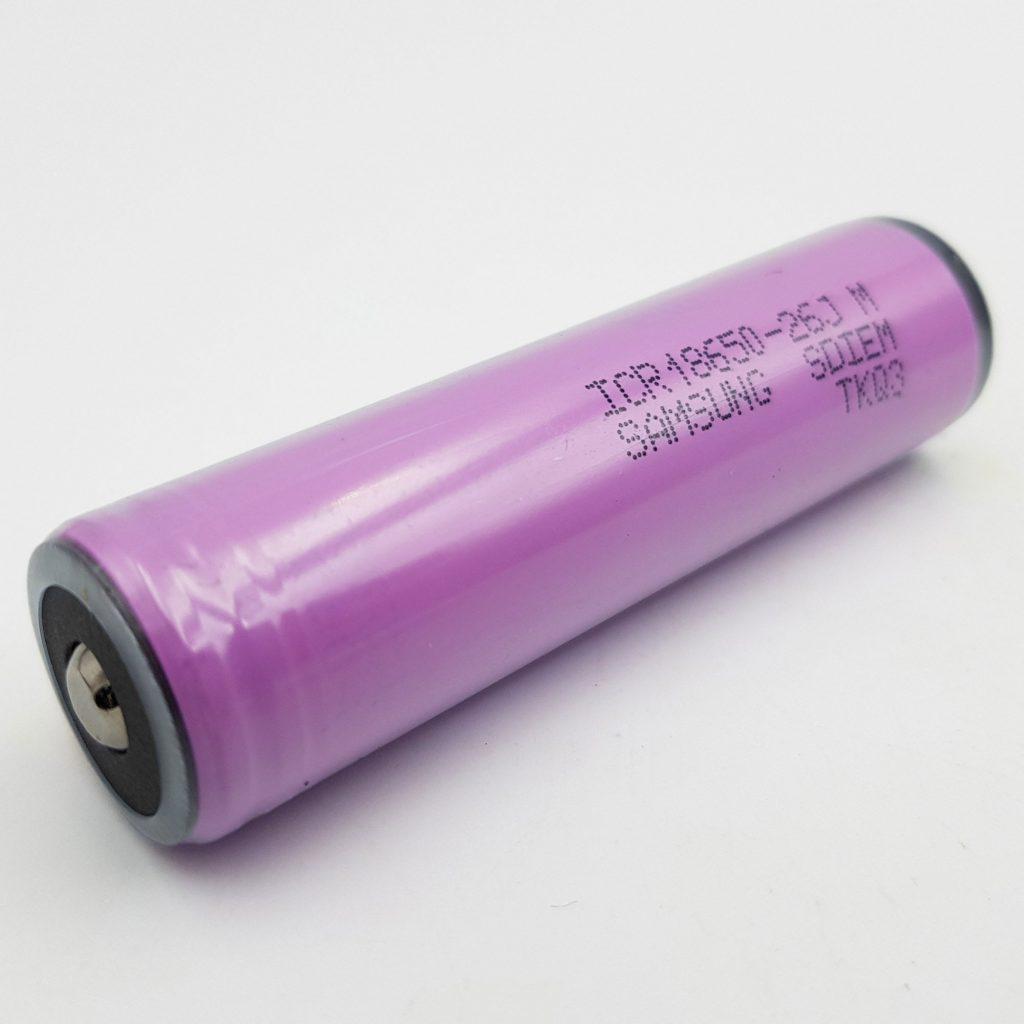 Pin 18650 Samsung 2600mAh tích hợp mạch bảo vệ
