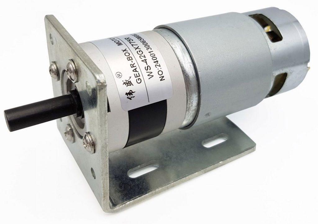 Hình ảnh động cơ WS-42GX775R khi lắp thêm gá động cơ